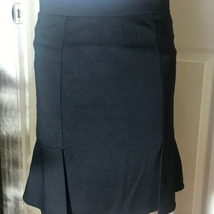 Dark Grey Dress Skirt